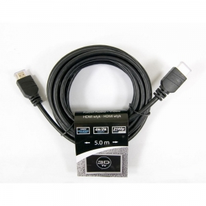 TREQ Kabel Audio-Video HDMI-HDMI HS with Ethernet 5m