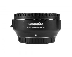 Commlite Adapter bagnetowy Commlite CoMix CM-AEF-MTF - Canon EF / Micro 4/3