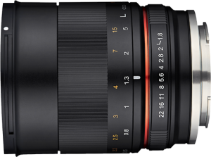 Samyang 85mm F1.8 ED UMC CS MFT