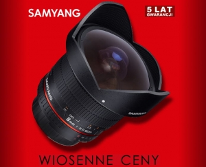Samyang 8mm f/3.5 Aspherical IF MC Fish-eye CS II do Nikona AE