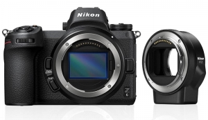 Nikon Z6 body + adapter FTZ