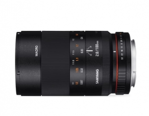 Samyang 100mm F2,8 ED UMC MAKRO do Canona M
