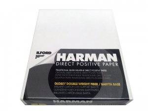 PAPIER HARMAN DIRECT POSITIVE FB GLOSSY 4X5IN/25szt