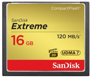 SanDisk Extreme CompactFlash 16GB 120MB/s