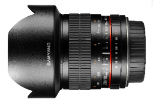 Samyang 10mm F2,8 do Canona